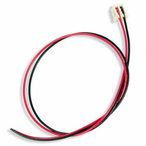 Train Control Systems HO 1654 2-Pin JST with Red and Black Wires