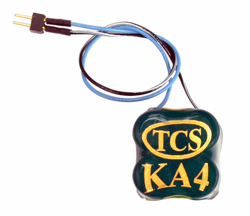 Train Control Systems HO 1667 (KA4-C) Keep-Alive Power Supply with 2-Pin Quick Connector Harness