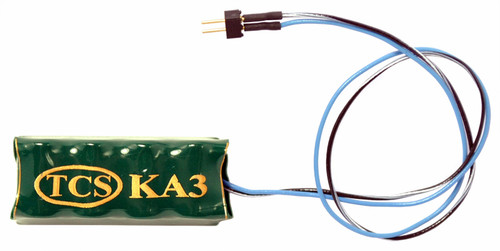 Train Control Systems HO 2001 (KA3-C) Keep-Alive Power Supply with Decoder Wire and 2-Pin Quick Connector Harness