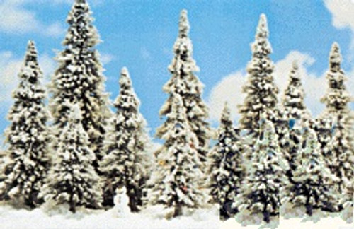 Busch HO 6465 Winter Pine Tree Set