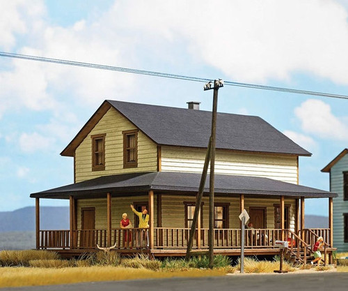 Busch HO 9727 North American-Style Frame House