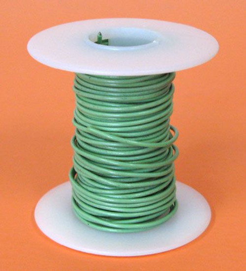 A.E. Corporation 18GN-25 18 GA Green Hook-Up Wire, Stranded 25'