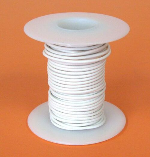 A.E. Corporation 18WT-25 18 GA White Hook-Up Wire, Stranded 25'