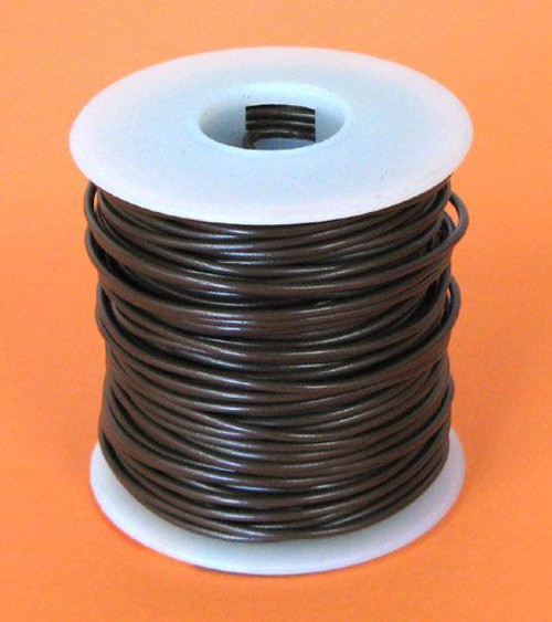 A.E. Corporation 20BR-100S 20 GA Brown Hook-Up Wire, Solid 100'