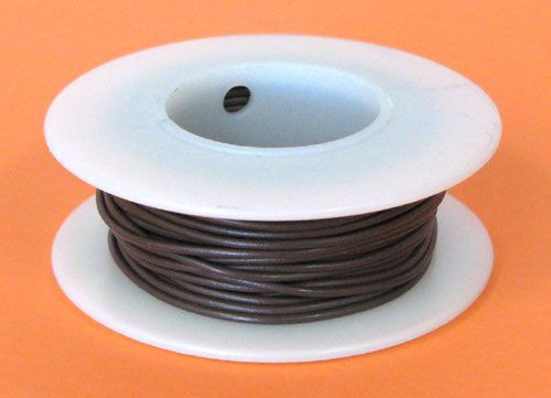 A.E. Corporation 20BR-25S 20 GA Brown Hook-Up Wire, Solid 25'