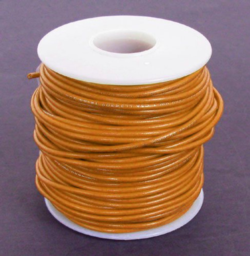 A.E. Corporation 20OR-100S 20 GA Orange Hook-Up Wire, Solid 100'