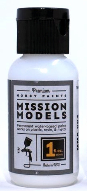Mission Models MMA-004 Flat Clear Coat Acrylic (1 oz.)