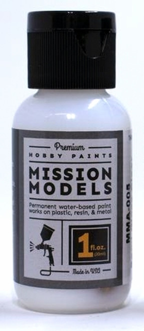 Mission Models MMA-005 Semi Gloss Clear Coat Acrylic (1 oz.)