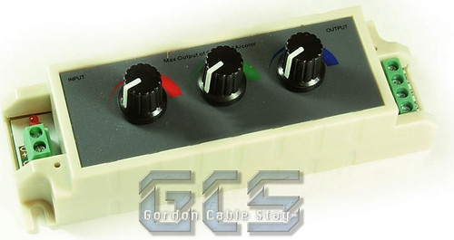 Gordon Cable Stay LC3-L Lighting Controller, 3 Channel