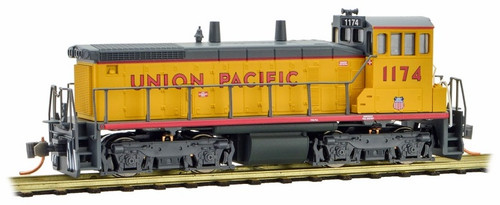 Micro-Trains N 98600572 SW1500 Diesel Switcher Locomotive, Union Pacific #1174
