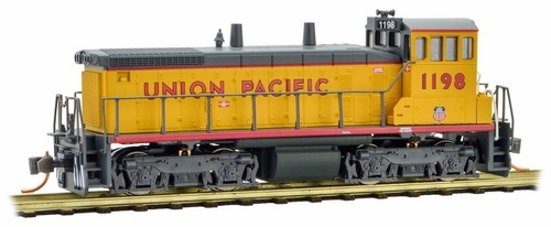Micro-Trains N 98600573 SW1500 Diesel Switcher Locomotive, Union Pacific #1198