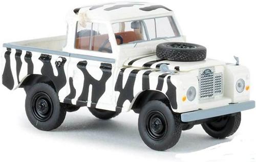 Brekina Ho 13861 1968 Land Rover 88 Open Cab Pickup Truck Safari