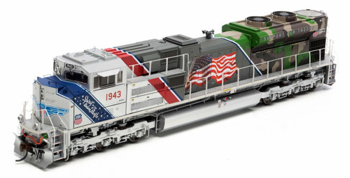 Athearn Genesis HO G19430 SD70ACe, Union Pacific (Spirit of the Union Pacific) #1943