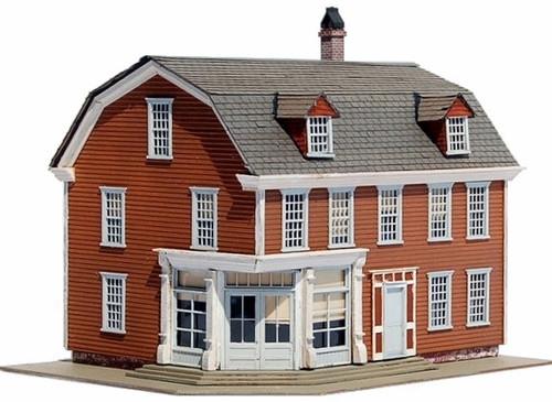 Carolina Craftsman Kits HO 1615 Knowle's Corner Store Kit