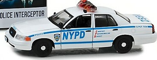 Greenlight Collectibles O 86519 NYPD 2001 Ford Crown Victoria Police Interceptor, Blue Bloods (1:43)