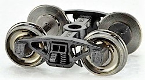 Bowser HO 40194 PRR Coil Semi Elliptical Trucks with Metal Wheels (1 Pair)