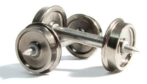 """Rapido HO 102087 36"""" Code 110 Metal Wheelsets (50)"""