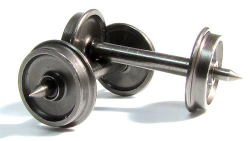 """Rapido HO 102089 36"""" Code 88 Metal Wheelsets (12)"""