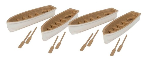Walthers SceneMaster HO 949-4163 Row Boats (4-Pack)