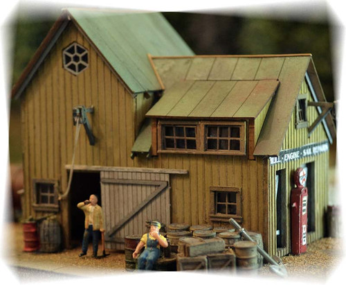 Bar Mills Scale Model Works HO 0402 Staton Marine Kit