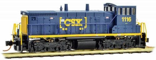 Micro-Trains N 98600101 SW1500 Diesel Switcher Locomotive, CSX #1116