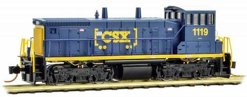 Micro-Trains N 98600102 SW1500 Diesel Switcher Locomotive, CSX #1119