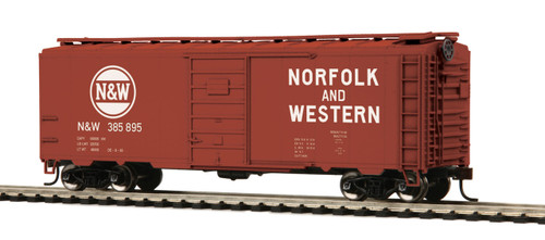 MTH HO 85-74150 40' PS-1 Box Car, Norfolk and Western #385895