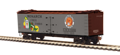 MTH HO 80-94062 R40-2 Woodside Refrigerator Car, Monarch #14292
