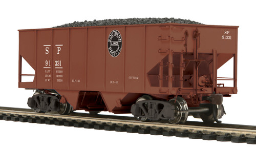 MTH HO 80-97092 USRA 55-Ton Steel Twin Hopper Car, Southern Pacific #91331