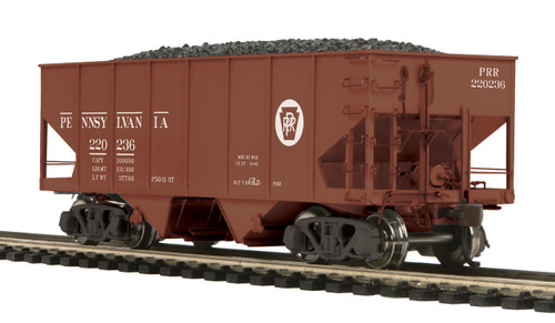 MTH HO 80-97099 USRA 55-Ton Steel Twin Hopper Car, Pennsylvania #220236