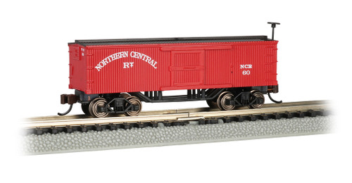 Bachmann N 15653 Old Time Box Car, Northern Central