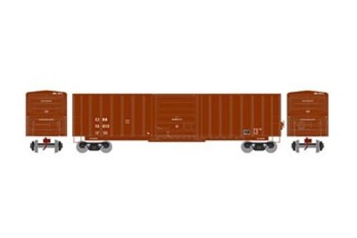 Athearn N 22972 50' SIECO Box Car, Clinchfield #13012