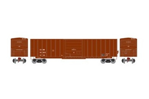 Athearn N 22972 50' SIECO Box Car, Clinchfield #13012