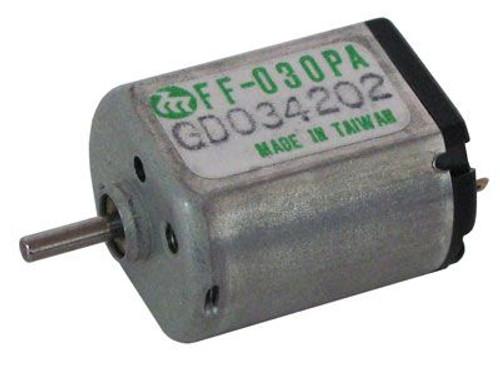 A.E. Corporation DCM-433 2-8 VDC Mini-Motor, Mabuchi Motor #FF-030PA 08250, 10,500 RPM