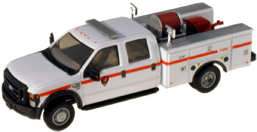 """River Point Station HO 538540288 Ford F-550 XLT Crew Cab, White DRW (Black Grille and Bumpers, 17"""" Argent Wheels)"""