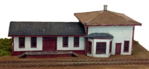 Rail Scale Models N 2210 Mahoney Station