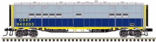 Atlas O 3007711-1 3-Rail Troop Express Box Car, CSX (Troop Kitchen Car) #940203