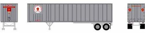 Athearn HO 15649 40' Exterior Post Trailer, Pennsylvania Railroad #202711