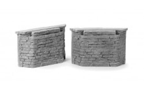 Ztrains Scale Models ZTR-100 Cut Stone Bridge Abutments
