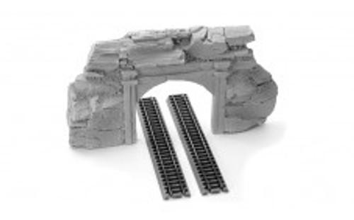 Ztrains Scale Models ZTR-111 Concrete and Rock Double Portal