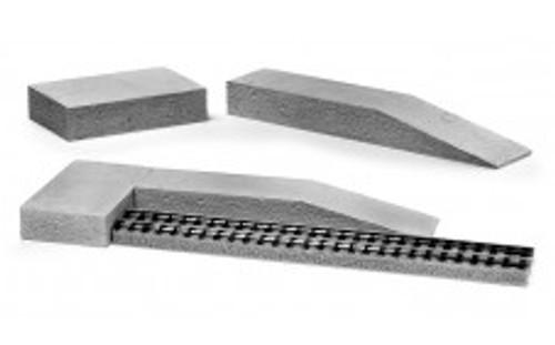 Ztrains Scale Models ZTR-130 Brick Ramp and Platform Set