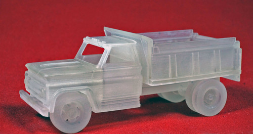 Wheels of Time HO 30201 Dump Truck, Undecorated