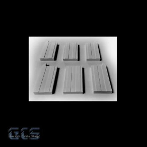 Gordon Cable Stay N CSDP-NZ CS Series Deck-End Anchorage Piers Kit (1 Pair)