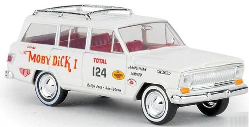 Brekina HO 19863 1967 Jeep Wagoneer with Moby Dick Graphics