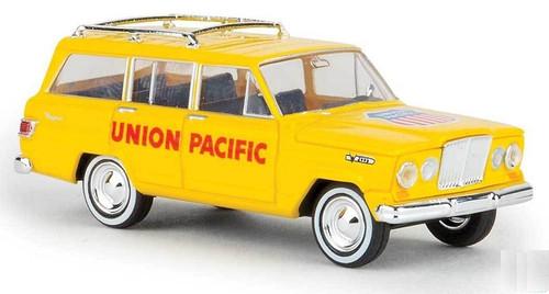 Brekina HO 19864 1967 Jeep Wagoneer, Union Pacific with UP Logo on Hood