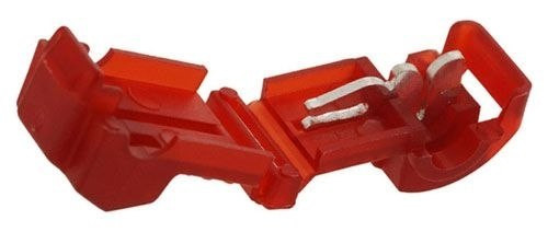 A.E. Corporation 951 Scotchlok Electrical T-Tap Connectors for 18-22 Gauge Wire, Red (5)