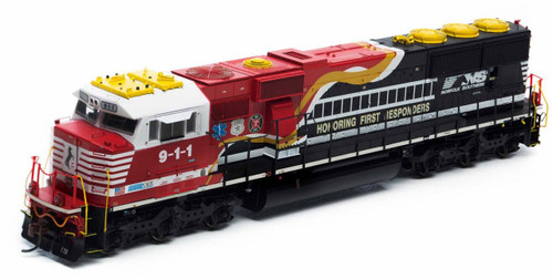 """Athearn Genesis HO G65200 SD60E, Norfolk Southern """"Honoring First Responders"""" #9-1-1"""