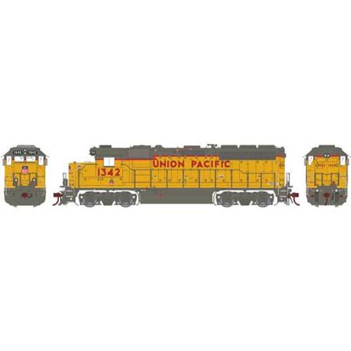 Athearn Genesis HO G65668 GP40-2, Union Pacific #1342