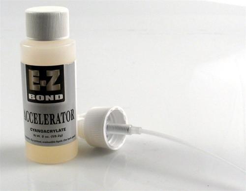 E-Z Bond Accelerator with Spray Pump 2 oz.