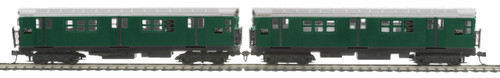 MTH HO 80-2372-3 R-21 2-Car Subway Add-On Non Powered Set, Metropolitan Transportation Authority (South Bound)